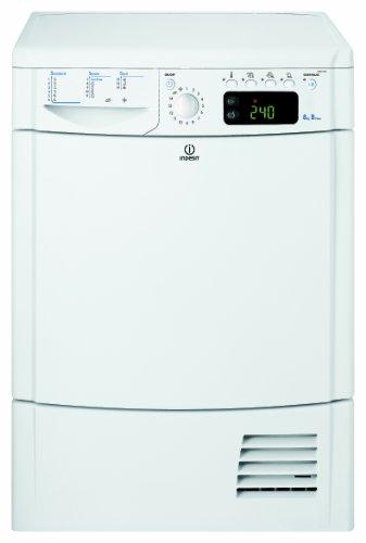 Indesit IDCE G45 B H - Secadora De Condensación Idceg45Bh(Eu) Con Capacidad De 8 Kg