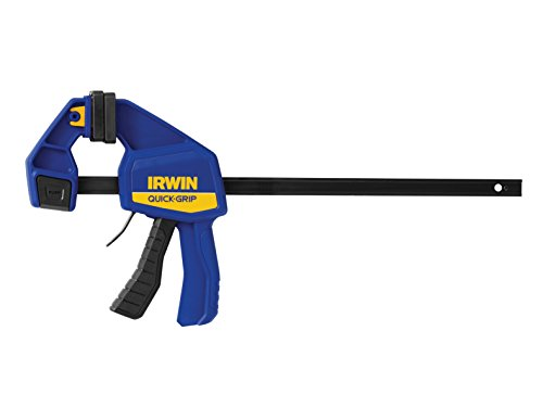 Irwin 1964720 Quick Grip Med Duty Clamp (12 Inch, Blue & Black)