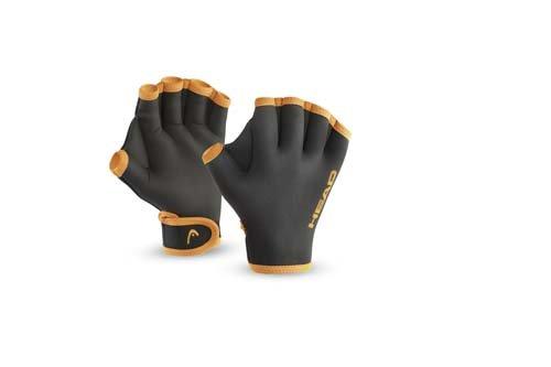 HEAD Erwachsene Schwimmhandschuhe Swim Glove Black, L