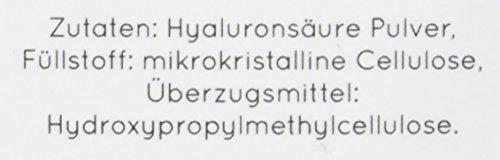 NATURE LOVE® Hyaluronsäure Kapseln - Vergleichssieger 2019* - Besonders hochdosiert: 500mg - 90 Stück (3 Monate) - 500-700 kDa - Laborgeprüft, vegan, hergestellt in Deutschland