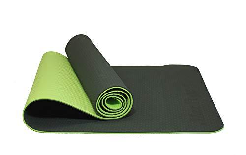 MAXYOGA Tappetino Yoga Mat 100% in materiale TPE ecologico, privo di sostanze nocive, 183 x 61 x 0,6...