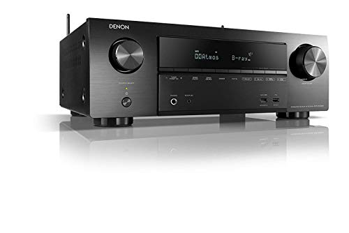 Denon AVR-X1500H 7.2 Ch. AV Receiver with Amazon Alexa Voice Control (Black)