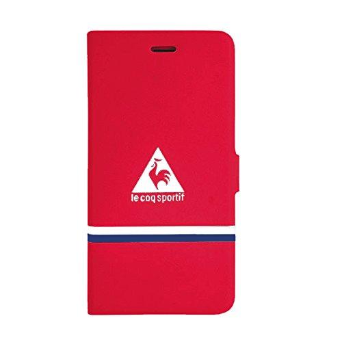 Le Coq Sportif CS305217 Reverso-Custodia a Libro per Apple iPhone 6, Colore: Rosso/Blu