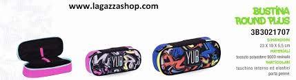 BUSTINA Round Plus YUB cod. 3B3021707 Seven YUB Collezione Graffiti (Rosa)
