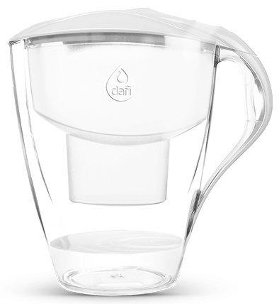 Dafi Astra (LED) Unimax 3L water filter jug with cartridges bundle (white) (1 month of Dafi Unimax) (1 cartridge)