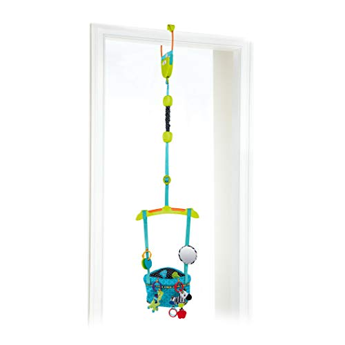 Bright Starts Bounce 'N Spring Deluxe Door Jumper, Blue