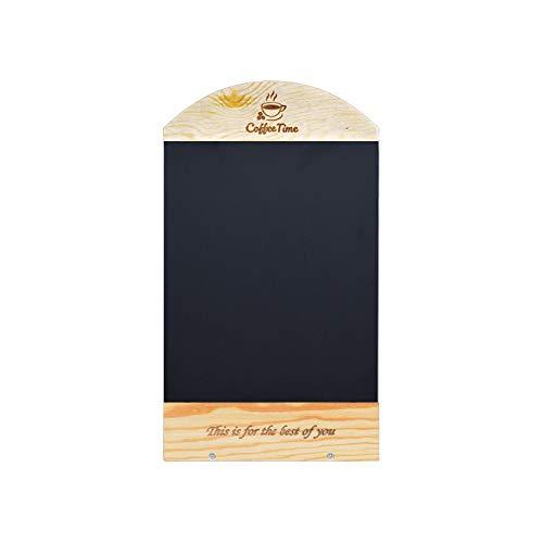 Segno Lavagna Due Lati Desktop Verticale Coffee Shop Restaurant Bakery Bar Home Messaggio di Carta...