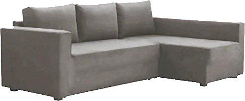 Solo copertine! Il divano non è incluso! Grey Friheten Sofa Cover Luce Heavy Duty cotone è su misura per IKEA Friheten divano letto con Chaise angolo, Sinistra braccio lungo Grigio chiaro