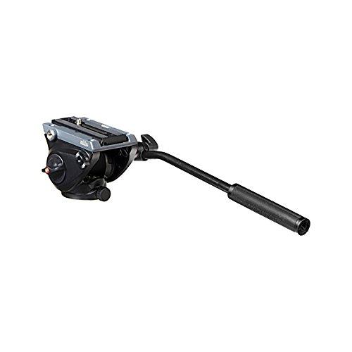 Manfrotto Lightweight Fluid Tripod Video Head with Flat Base (MVH500AH)