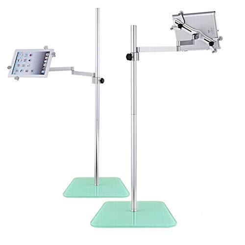 Supporto Tablet Universale Mobile di Alluminio Regolabile Lettura Leggio Dos Brazos per IPAD...