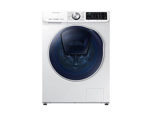 Samsung WD90N642OOW/ETLavatrice QuickDrive 9 kg, 1400 rpm, Bianco [Classe di Efficienza Energetica...