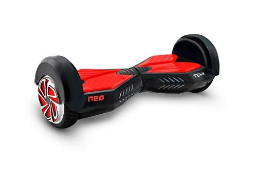 Itekk Hoverboard 8'' Neo con Bluetooth, Assicurazione AXA 'Tutela Famiglia' inclusa, Rosso