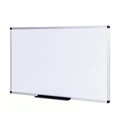 VIZ-PRO Lavagna Magnetica, cornice in alluminio, 120 x 60 cm