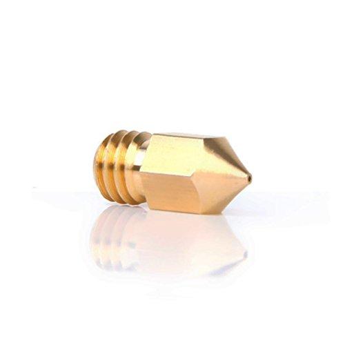 UEETEK Sostituzione testina di stampa di ugello estrusore 0.5 mm per 1.75 filamento stampante 3D...
