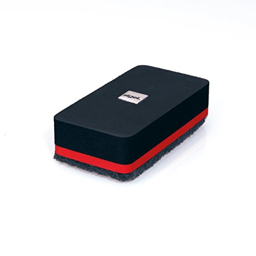 Sigel GL187 Cancellino magnetico per lavagne magnetiche di vetro/bianche 9 x 4,5 cm