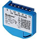 Qubino Flush 1 Relay Switch Flush-Mounted EU Z-Wave Micro Module plus - Pack of 1 ZMNHAD1