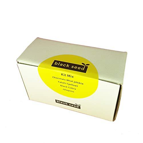 KIT MIX - Black seed - kit di semi - starter kit - varietà peperoncino