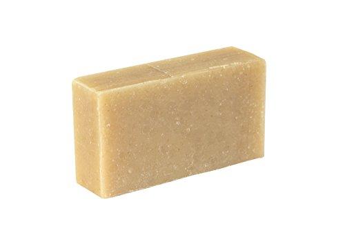 Jabón facial - Avena, lavanda y romero (4Oz)- Orgánico y artesanal para pieles sensibles. Jabón...