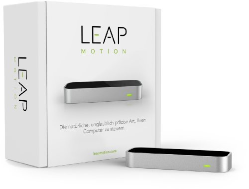 Leap Motion LM-C01-DE - Controlador de Movimiento por Cable, Color Negro