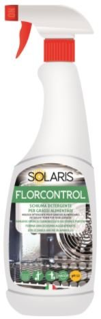 Solaris FLORCONTROL Detergente per Grassi Alimentari Cartone da 12 Pezzi