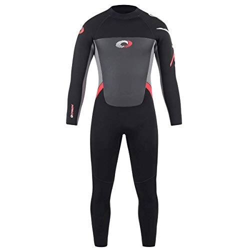 Osprey Mens Winter Wetsuit 5mm Full Length - Origin - Surf, Kayak, Bodyboard
