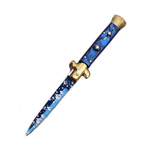 Universalmesser Klappmesser Gartenmesser, Extra scharfes Outdoor Messer Kompaktes Survival Messer Jagdmesser | Einhandmesser Taschenmesser mit Edelstahlklinge