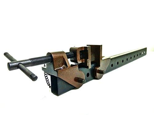 CLIMAX Professional Carpentry 500 mm Wood Working Vice Rapid Folding (Multicolour)
