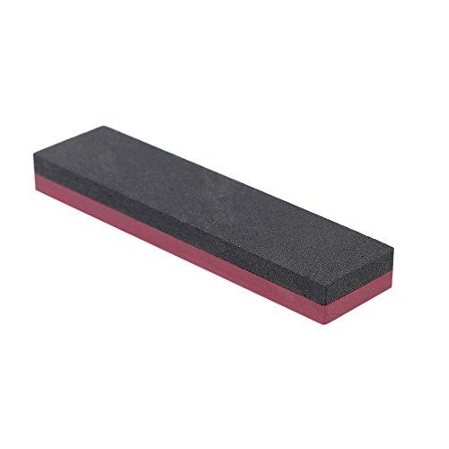 Anself 800/3000 Grit Double Side Kombination Whetstone Alumdum Messerschleifstein Schleifstein für Messer 100 * 25 * 10mm