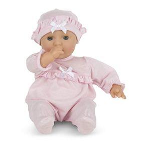 Melissa & Doug 14881 - Jenna, muñeco bebé, 31 cm , color/modelo surtido