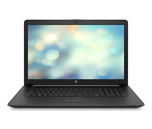 HP 17-by0228ng (17,3 Zoll / HD+) Laptop (Intel Celeron N4000, 8GB DDR4 RAM, 256GB SSD, Intel UHD Grafik, ohne Betriebssystem) schwarz
