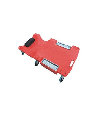 Big Bull Red Plastic Car Creeper with Magnetic Tool Tray(Product Code:TLCR 40PRT)