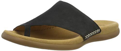 Gabor Shoes 03.700.16 Damen Pantoletten ,Blau (nightblue) ,39 EU