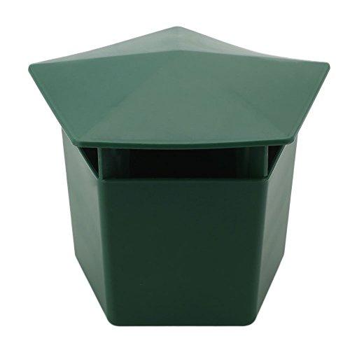 Kicode Verde 5 * 4.5 * 4 ' Lumaca Gintrap Eco-friendly Snail Gage Trappola per raccogliere le lumache Strumenti da giard