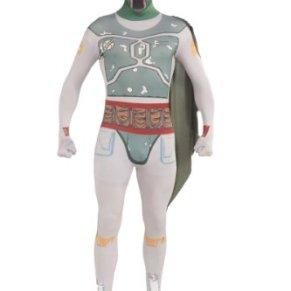 Rubies - Disfraz Oficial de Star Wars Boba Fett, Segunda Piel, Talla Grande