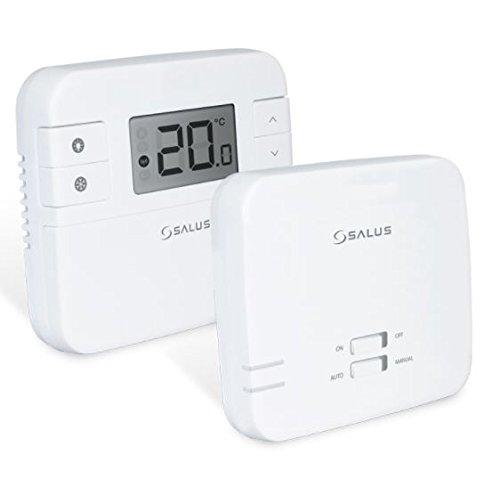 Thermostat d'ambiance avec récepteur à fréquence radio numérique sans fil RT310RF, remplacement direct de RT300RF par Salus