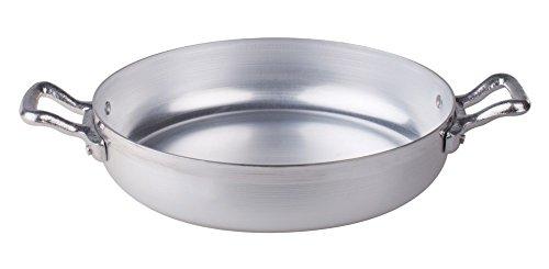 Pentole Agnelli FAMA1022 Tegame in Alluminio BLTF con 2 Manici in Acciaio Inossidabile, 22 cm,...
