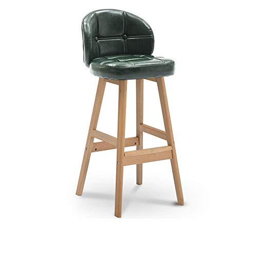 FAMILI DA Sillas Sofas taburetes Taburetes PU Moderna y Confortable con Altura de Contador Bistro Bar Taburetes Set Home Cocina 2 tamaños de Muebles de Oficina Muebles de Oficina doméstica-1005,60CM