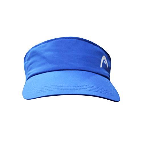 Head Cap Vizor Polyester Cap (Royal Blue)