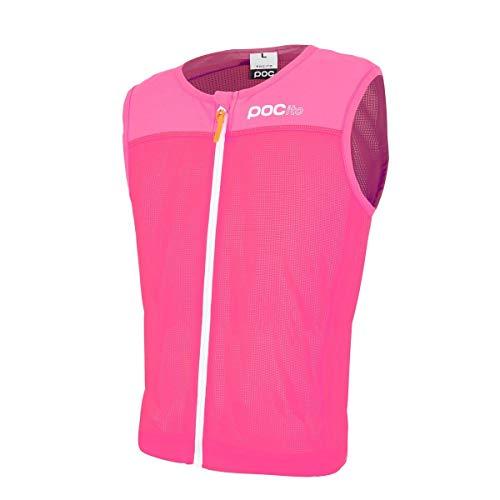 POC Pocito Vpd Spine, Paraschiena Unisex-Bambini, Rosa (Fluorescent Pink), L