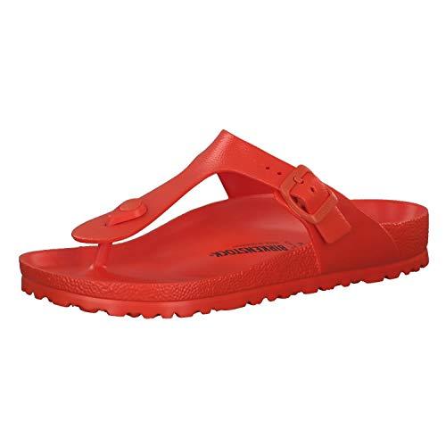 Birkenstock sandali infradito Gizeh da donna, Rosso (Red), 40 EU