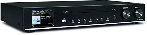TechniSat DIGITRADIO 140 - Multiroom Hi-Fi-Tuner - Digitales Internetradio (mit Wi-Fi Audio-Streaming-Funktion, Bluetooth und CD-Player)
