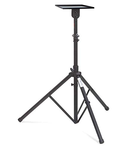 Audiovan Heavy Duty Projector Tripod Stand & Speaker Tripod Stand for Dell Sony Benq Epson Etc