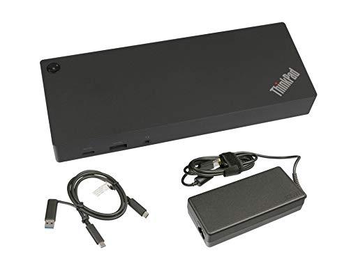 USB-C/USB 3.0 Port Replikator inkl. Netzteil (135W) Original für Fujitsu Lifebook E547 Serie