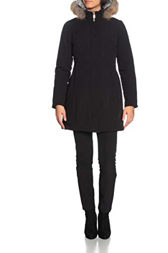 Yes Zee Giaccone Parka in Trapunta Donna Nero