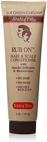 Sta-Sof-Fro Rub On Hair & Scalp Conditioner Extra Dry 5 Oz (Pack Of 3)
