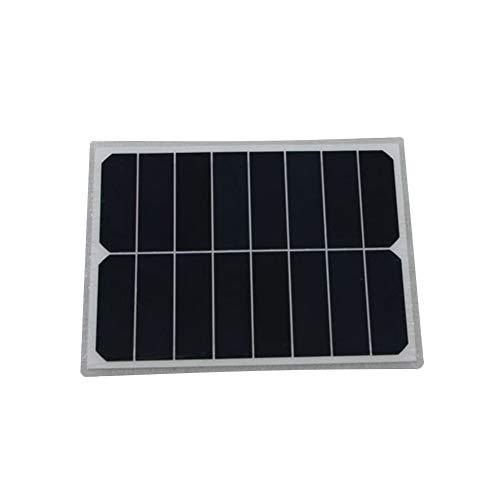MAG.AL Cristal Individual Energía Solar Tablero De Carga Policristalino Energía Solar Oblea Módulo Fotovoltaico Paneles De Energia Solar Coche Uso Superior Coche Paneles Solares, 15W