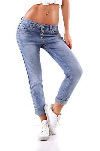 OSAB-Fashion 5831 Damen Jeans KAROSTAR by LEXXURY Hose Boyfriend Baggy...