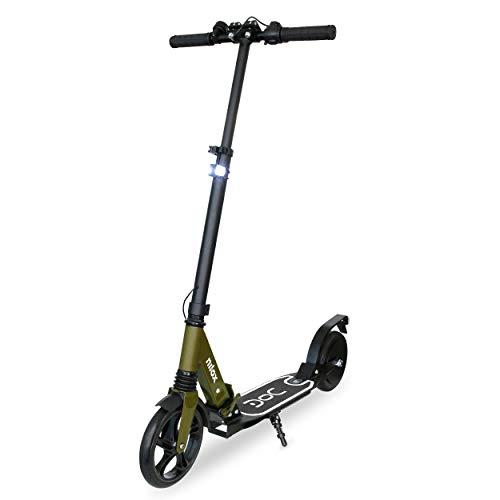 Nilox Doc Eco 3, Monopattino Elettrico, E-Scooter Unisex Adulto, Camo, Regolabile in Altezza