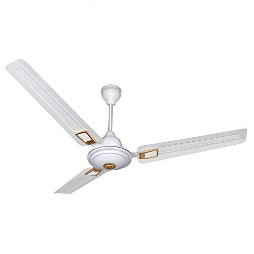 DIGISMART 390 RPM 1200MM HIGH Speed BEE Approved 5 Star Rated APSRA Deco Ceiling Fan White_2 Year Warranty