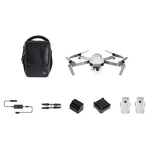 DJI Mavic Pro Platinum Fly More Combo (Versione EU) - Drone Quadricottero, Rumorosità 4 dB, Durata...